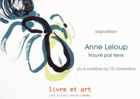 Anne Leloup - Carte postale recto verso