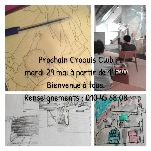 Croquis club 28 mai